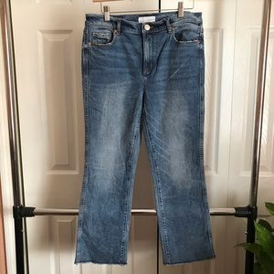 LOFT Straight Vintage-Fit Ankle Jeans